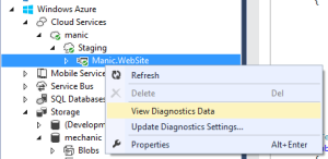 Azure-Diagnostic-Data